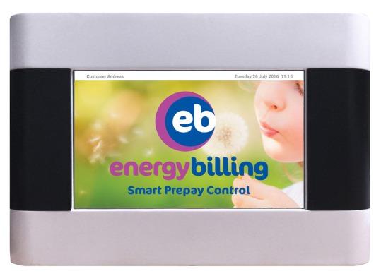 Energy Billing's SmartBill meter load up screen.