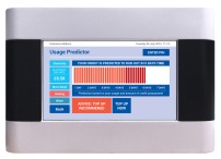 Energy Billing's vThree meter predictor screen.